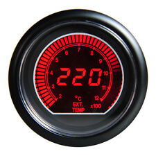 "New 2.5"" 60mm Blue Lcd DC12V Exhaust Gas Temperature Temp Gauge EGT Universal"