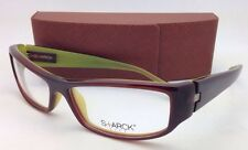 New!! MIKLI STARCK Eyeglasses BIOCITY 31 P0511-03 59-15 Brown with Green Frames