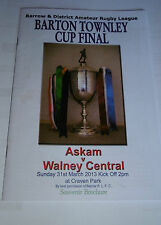 Askam v Walney Central 31st March 2013 Barton Townley Cup Final @ Craven Park