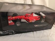 Hot Wheels 1/18  F1 Michael Schumacher F- 2002 Ferrari Very Rare New