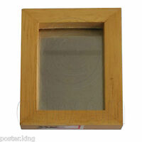 Victorian Wood Square Wall Frame Mirror 1/12 Doll's House Dollhouse Miniature