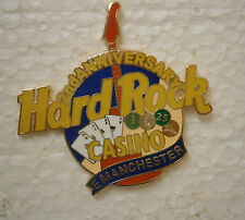 Hard Rock Cafe Casino MANCHESTER 2nd Anniversary Pin.
