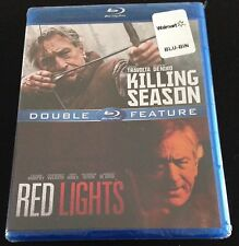 RED LIGHTS & KILLING SEASON Blu-Ray Double Feature Robert De Niro, John Travolta