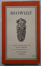 BEOWULF.TRANS DAVID WRIGHT.1ST S/B 1957 L70,PENGUIN CLASSICS.ANGLO SAXON POEM