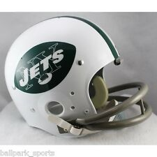 NEW YORK JETS 1965-77 REPLICA TK Suspension Helmet