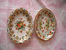 """Pr  Vtg Daher Tin Tray/Serving Dishes Made In England, 12 & 1/2"""" by 9 & 1/2"""""""