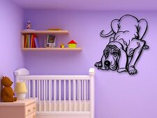 Wall Stickers Vinyl Decal Pets Puppy Dog Animal for Kids Room Nursery (ig810)