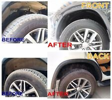 WATER MUD GUARD INNER FENDER WHEEL ARCH TOYOTA FORTUNER 2015 2016-ON NoDRILLING