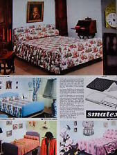 PUBLICITÉ 1967 SMATEX ENSEMBLE MATELAS SOMMIER - ADVERTISING