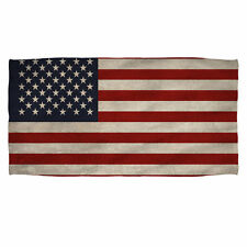 "OLD AMERICAN FLAG Beach Towel 36"" x 58"""