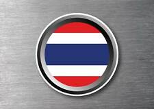 Thai flag sticker quality 7 year water & fade proof vinyl car ipad