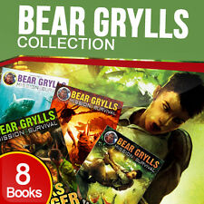Bear Grylls Collection 8 Books Set (Gold of the Gods, Way of the Wolf, Sands..)