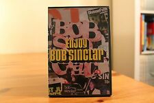 Bob Sinclar - Enjoy (2004) cd & dvd set rare house Africanism French deep