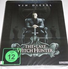 The Last Witch Hunter - Blu-ray/NEU/OVP/Action/Vin Diesel/lim Steelbook