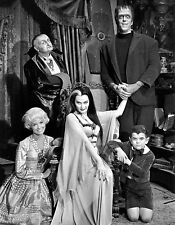 MUNSTERS TV SHOW CAST8X10 PHOTO