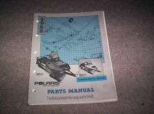 Vintage Snowmobile Polaris 1988 Long Trak Reverse Star Trak Parts Manual Nice