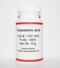 Tranexamic Acid Powder, 99.86%,10g, Skin Whitening & Lightening, Ultra Pure