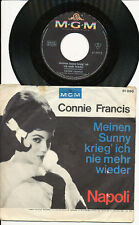 CONNIE FRANCIS 45 TOURS GERMANY NAPOLI