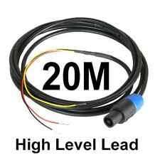 20m NEUTRIK SPEAKON HIGH LEVEL lead per Rel & MJ SUBWOOFER