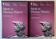 the great courses MYTH IN HUMAN HISTORY  DVD 6 disc set