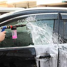 Adjustable Snow Foam Car Wash Spray Gun Lance Pressure Washer Quick Adapter New