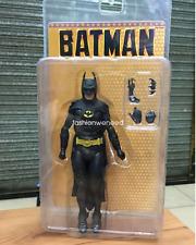 NECA Batman Michael Keaton Vintage Movie 1989 Tim Burton 15cm PVC  Action Figure