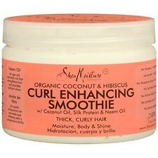 Shea Moisture Organic Coconut & Hibiscus Curl Enhancing Smoothie 12 oz 340 g