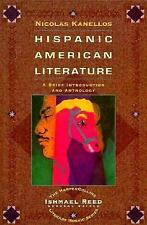Hispanic-American Literature: A Brief Introduction and Anthology by Kanellos, N