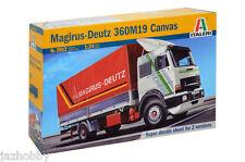 Italeri 3912 1/24 Scale Model Kit Magirus-Deutz 360M19 Canvas Lorry Truck