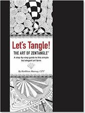 Let's Tangle! the Art of Zentangle by Kathleen Murray (2014, Spiral)