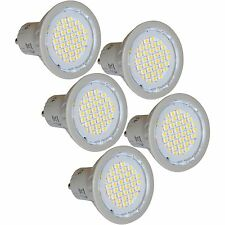 5 Energy Saving LED GU10 3W Light Bulbs 4200K Cool White Replaces 35W Halogen
