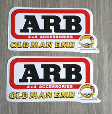 2X ARB Old Man 4x4 EMU Sticker Truck Off-road 4WD Jeep Toyota Ford Decals Car