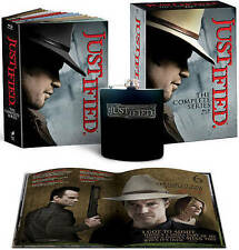 Justified:The Complete Series(19-Blu-ray Set+Flask+Digital HD)NEW Seasons 1-6