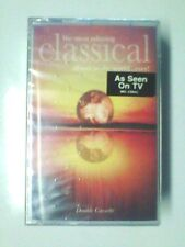 THE MOST RELAXING CLASSICAL ALBUM EVER (2 Cassettes,1999 Virgin) NEW