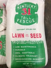Kentucky 31 Tall Fescue Grass 25 lb of Quality Grass Seed 2016 Planting Season