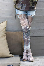Bonnie Doon Strumpfhose Modell: FANCY LEOPARD TIGHTS  Gr. M (40 - 42) Olive