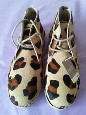 BNWT NEXT leather upper print lace up desert boot size 1 older girl  £28