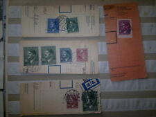 Adolph Hitler  Third Reich / Nazi Germany Used Stamps on documents