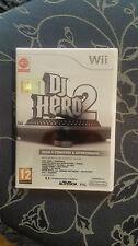 DJ HERO 2 GIOCO  WII VERSIONE UFFICIALE  ITALIANA NUOVO SIGILLATO