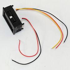 DC 0-100V 999mA Voltmeter Ammeter Blue & Red LED Amp Dual Digital Meter Monitor
