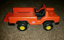 Vintage fisher price orange Frito lay pick up truck w retractable bed