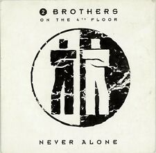 2 Brothers On The 4th Floor ‎CD Single Never Alone - Holland (EX/M)