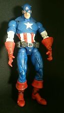 "toy biz CAPTAIN AMERICA series 1 MARVEL LEGENDS : FACE-OFF 6"" inch MASKED Toybiz"