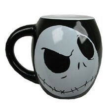The Nightmare Before Christmas Jack Skellington 18 oz. Ceramic Oval Mug