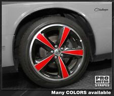 Dodge Challenger Wheel Insert Stripes 2008 2009 2010 2011 2012 2013 2014