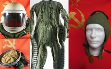 Full Set of NEW USSR MIG Pilot Flight suite VKK 6M +Helmet GSH-6A+Radio Cap