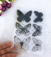 Butterfly Silicone Transparent Stamp Seal love story DIY Scrapbooking Album#01