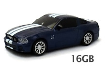 Ford Mustang GT Sports Car USB Flash Pen Drive 16G (Blue) - Officially Licensed
