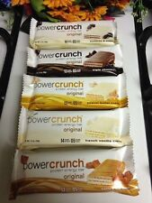 Qty 10 - Power Crunch Protein Energy Bars - Variety Pack! - EXP 8/2017