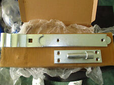4655 300mm Band and Hook Cranked Gate Hinges X 2 Pair